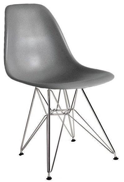Стул для столовой Signal Meble Line Grey, 1 шт.