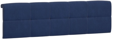 Black Red White Tetrix Headboard Upholstered Cover 160 Blue