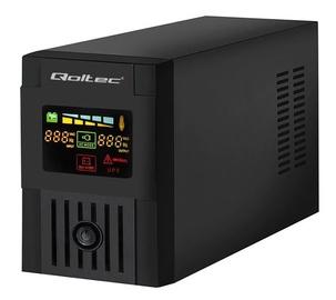 Qoltec UPS 1500VA / 900W / LCD / USB