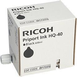 Ricoh 817225 HQ 40 Ink Cartridge Black 5pcs