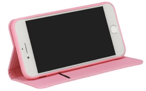 TakeMe Smart Magnetic Fix Book Case Fpr Xiaomi Mi 8 Lite Pink