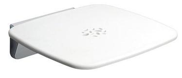 Gedy Prima Classe Tilt-Up Shower Seat 6083 White/Chrome