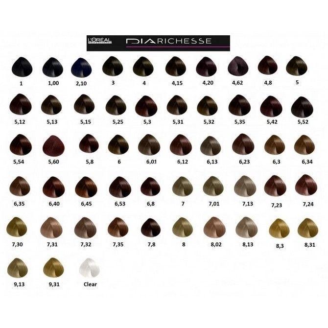 L`Oréal Professionnel Dia Richesse Semi Permanent Hair Color 50ml 5.42