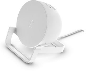 Belkin BoostCharge Wireless Stand + Speaker White
