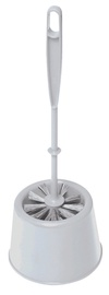 York Mini Toilet Brush 14x14x38cm Grey