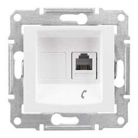 Schneider Electric Sedna 1xRJ11 SDN4101121 White