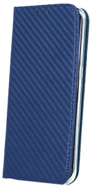 Mocco Smart Carbon Book Case For Huawei P9 Lite 2017 Blue