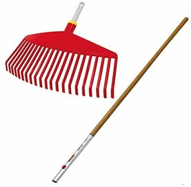 Wolf-Garten Plastic Broom With Wooden Handle Ui-M/ZM