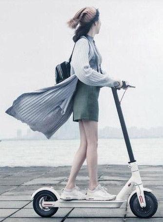 Elektriskais skūteris Xiaomi Mi M365 White