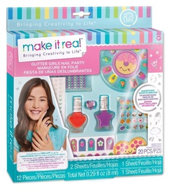Nagu kopšanas komplekts Make It Real Glitter Girls
