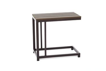 Садовый стол Masterjero Combo A-1229, коричневый, 60 x 34 x 57 см