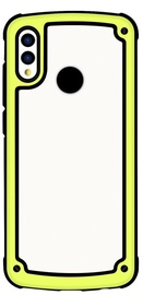 Hurtel Solid Frame With Bumper For Samsung Galaxy S9 Plus Yellow