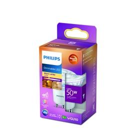 Лампочка Philips 929002065750, led, GU10, 3.8 Вт, 390 лм, теплый белый