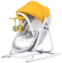 Детская кроватка - качели KinderKraft Unimo Yellow