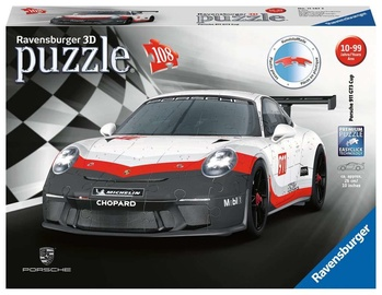 3D puzle Ravensburger Porsche GT3 Cup 11147, 108 gab.