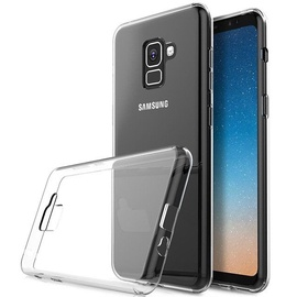 Mocco Ultra Back Case For Samsung Galaxy A8 A530 Transparent/Black