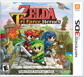 Legend Of Zelda: Tri Force Heroes 3DS