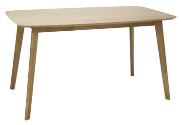 Pusdienu galds Home4you Enrich 20894, ozola, 1400x800x750mm