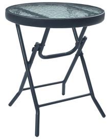Dārza galds VLX 47926, melna