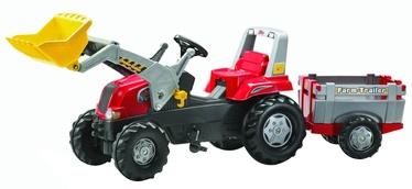 Авто и мото педали Rolly Toys Junior RT Tractor with Farm Trailer 811397