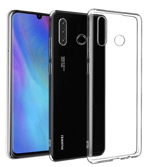 Mocco Ultra Back Case For Huawei P30 Lite Transparent