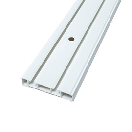Направляющая Domoletti Curtain Rod Board 2 Rails 180cm White