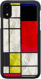 iKins Mondrian Back Case For Apple iPhone XR Black
