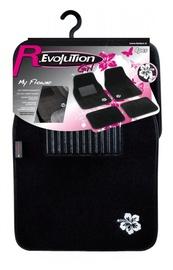 Auduma automašīnas paklājs Bottari Revolution My Flovers, 4 gab.