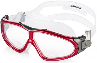 Очки для плавания Aqua-Speed Sirocco, красный