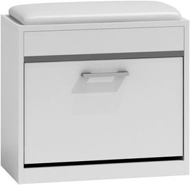 Top E Shop Milano Shoe Cabinet White