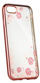Blun Diamond Back Case For Xiaomi Note 4/4X Transparent/Rose Gold