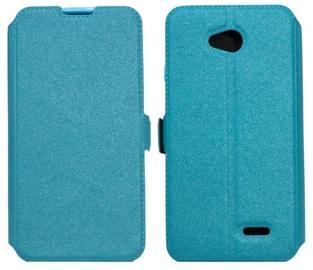 Telone Shine Book Case For Samsung Galaxy J1 J120F Blue