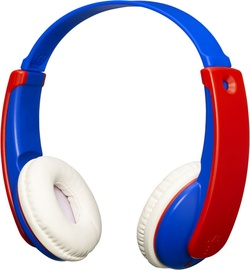Austiņas JVC HA-KD9BT Blue/Red