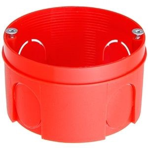 Verners Mounting Box D68 H40 Red
