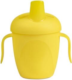 Bērnu pudele dzeršanai Canpol Babies Non-Spill Cup Tropical Bird 240ml Yellow 76/001