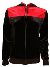 Bars Womens Jacket Black/Red 79 L