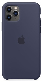 Apple Silicone Back Case For Apple iPhone 11 Pro Midnight Blue