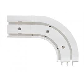 Угол направляющей Domoletti Ceiling Curtain Track Corner 2 Slides External
