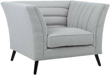Atzveltnes krēsls Home4you Piano Light Grey, 112x87x77 cm