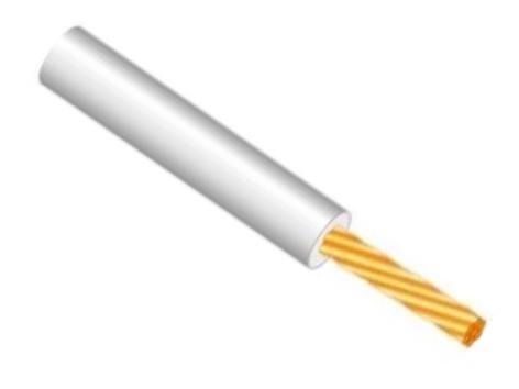 Lietkabelis PV-3/H05V-K, 1 x 0,75 mm²