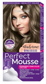 Schwarzkopf Perfect Mousse Permanent Foam Color N816 Nude Blond