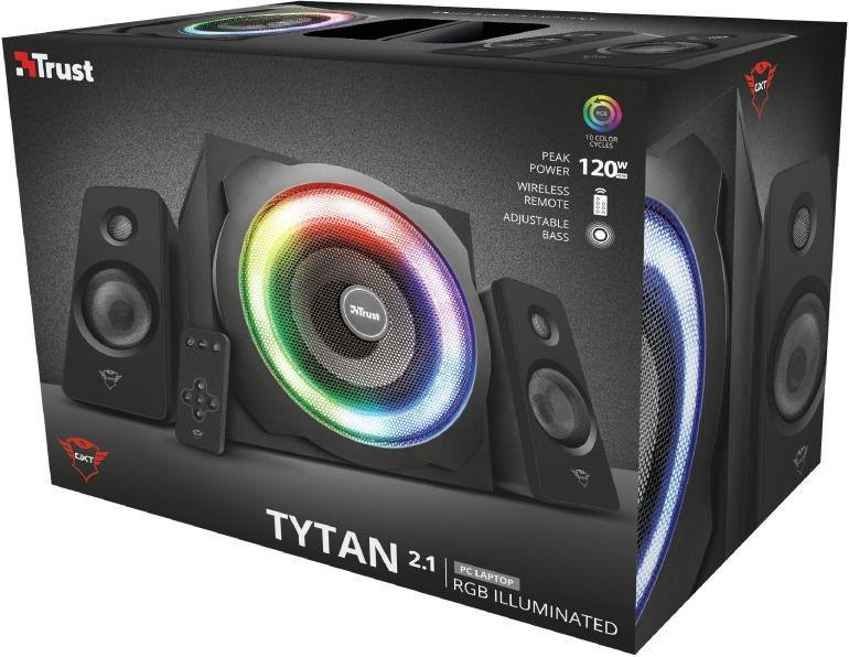 Trust GXT 629 Tytan RGB 2.1