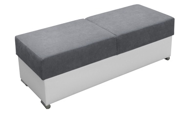 Pufs Idzczak Meble Grand Grey, 140x53x45 cm