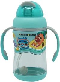 Бутылка Marcus & Marcus 2 Stage Tritan Straw Bottle Blue