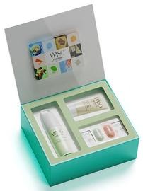 Shiseido Waso Quick Matte Moisturiser Oil Free 75ml + 30ml Soft+Cushy Polisher + 0.3ml Eye Opening Essence + 0.3ml Poreless Matte Primer