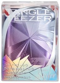 Ķemme Tangle Teezer Compact Styler Brush Smashed Holo Blue