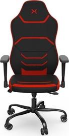 Spēļu krēsls Krux Sfero, sarkana
