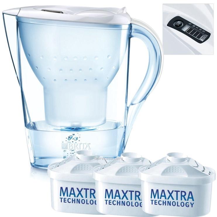 Brita Marella Cool White 2.4L + 3 Filters