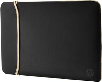 HP 14 Neoprene Reversible Sleeve Black Gold