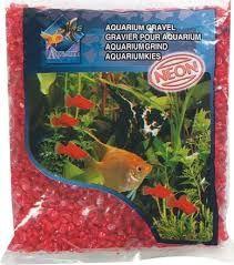 Karlie Flamingo Aquarium Gravel Neon Red 1kg